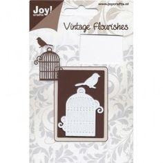 Joy! Crafts Cutting Die-Bird CageJC30034