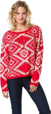 ANGIE TRIBAL SWEATER Image