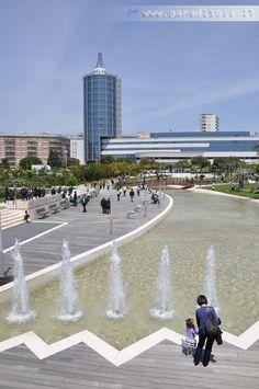 Cagliari, il nuovo Parco della Musica inaugurato ieri - foto Paradisola.ir - clicca per INGRANDIRE, poi clicca ancora per ZOOMARE