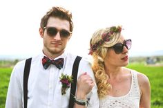 Spring Hipster Wedding... Cute but I'm Hip and he's not ha ha!