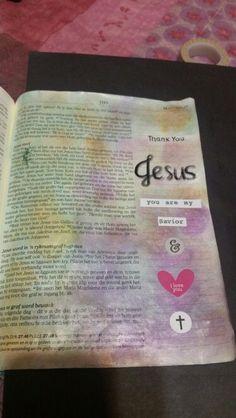 Thank you for saving me Jesus