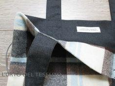 Bag wool lined
