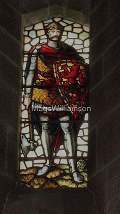 Stained Glass From Wallace Monument, Stirling, Scotland (4) by MagsWilliamson