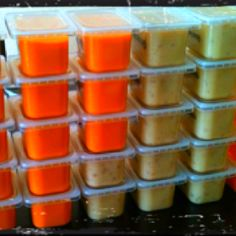 DIY organic baby food. Need recipes? Let me know!