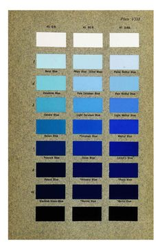 Columbia University Libraries: Color standards and color nomenclature