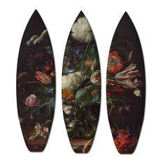 Renascimento radical estampado em pranchas de surf e skate 3