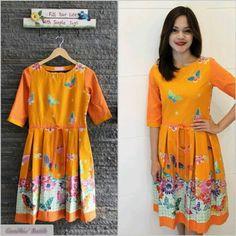 Orange Batik