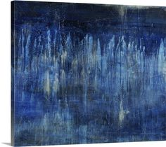Apparition Blue painting