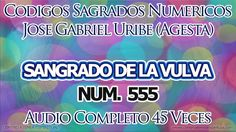 SANGRADO DE LA VULVA CODIGOS SAGRADOS 555.