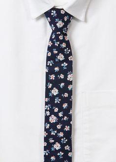 floral tie.
