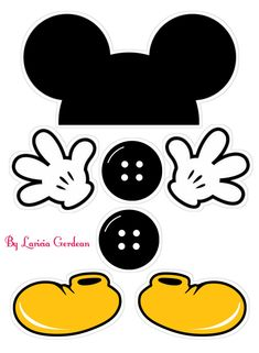 Disney Cruise Door Decorations Template Mice 25 Ideas For 2020 Mickey Mouse Crafts, Mickey Mouse Images, Mickey Mouse Cartoon, Mickey Mouse Cake, Baby Mickey, Disney Crafts, Mickey Mouse Clubhouse Birthday Party, Mickey Mouse Parties, Mickey Party