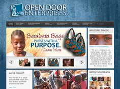 "Led by a team of committed individuals, the organization has started several inspiring ministries such as Tanzania Is Thirsty and Kids For Jesus. Collipsis Web Solutions created a sleek, information-driven website to assist Open Door Enterprises in its goal of telling a story to the rest of the world. The website's main content is presented in a unique ""patchwork"" layout, giving visitors plenty of room for interaction. #Collipsis #Website"