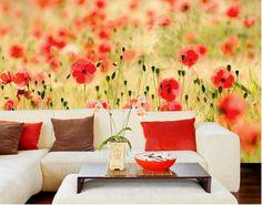 Vlies FotoTapete Summer Poppies