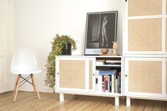 The concept behind these modular cabinets is to bring closer traditional elements, materials and techniques of both the Scandinavian and Italian furniture making of the and The set is reali. Modular Cabinets, Italian Furniture, Furniture Making, Product Design, Bookcase, Shelves, Home Decor, Shelving, Homemade Home Decor