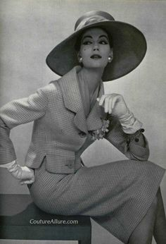 Pierre Balmain, 1957 – Couture Allure Vintage Fashion