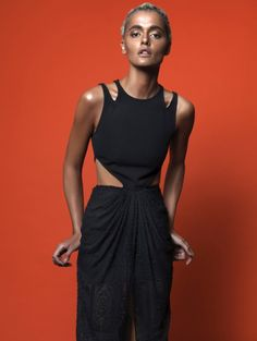 Strong, edgy cuts in Ronny Kobo S/S 2015 campaign