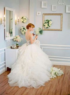 Princess Wedding Dresses Powder Room Inspiration Shoot By Desi Baytan