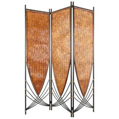 Add exotic flair to your decor with the Oriental Furniture Tropical Philippine Room Divider . This unique screen, featuring subtle art deco lines,. Bamboo Room Divider, Glass Room Divider, Panel Room Divider, Divider Screen, Room Divider Headboard, Divider Cabinet, Partition Screen, Fabric Room Dividers, Sliding Room Dividers