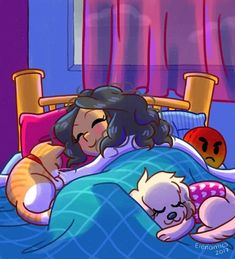 A dormir bien a gustín. Cute Comics, Funny Comics, Character Art, Character Design, Disney Dogs, Girls Characters, Anime, Funny Art, Baby Dogs