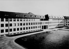 The Masaryk Military Hospital in Prague. In 1925 the Czechoslovak Parliament decided to build a new military hospital (on the occasion of Masaryk's 75th birthday) but it was not until August 1938 when the building was officially opened.