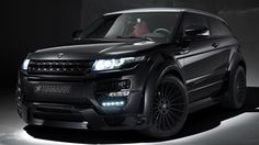 Hamann Land Rover Range Rover Evoque Coupe Black Wallpapers Hi