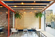 Oval Barcelona #interiorismo #diseño #madera #estilonordico #blanco #white #wood #design