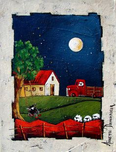 Artwork of Anette Dannhauser exhibited at Robertson Art Gallery, specialists in the selling of original art of top South African Artists. Windmill Art, South African Art, African Artists, Naive Art, Pretty Art, Anime Art Girl, Diy Art, Art Pictures, Art Lessons