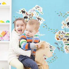 Animal world map for children 😊 My artwork (link in profile) ►►► http://www.redbubble.com/people/ekaterinap/shop 🎨 #redbubbleartist  #myart #artwork #illustration #artist #art #arte #arts  #dessin  #drawings #creative  #graphicdesign #artistsoninstagram  #dibujo #graphics #animals  #instaartist #masterpiece  #illustration #graphic #kidsdeco #kidsroom #kidsinterior #kidsinteriordesign #childrensroom #childrensinteriors  #colourfulbedroom  #childrensdecor #childrensbedroom