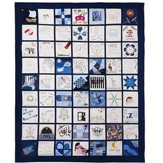 Sleep Quilt- Tracy Chevalier stitched behind bars showcasing a prisoner's interpretation on the theme of sleep and dreams.