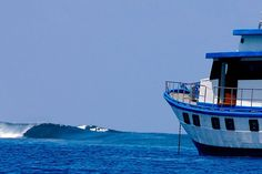 The Melaleuca is a custom-built surf explorer framed around the keel and bones of a traditional Indonesian cargo boat. #yacht #surfcharter