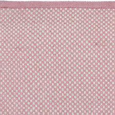 Simple Teppich Punkte Dots x cm rosa altweiss bei Le Bon Jour