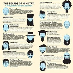 The beards of ministry...this is pretty funny.