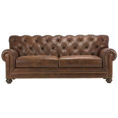 Chadwick Leather Sofas - Ethan Allen US Love this for the living room in front of the fireplace.