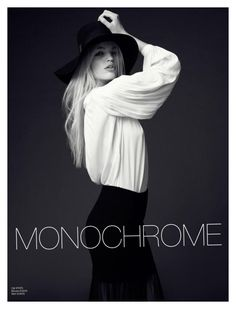 """""""Monochrome beauty"""" by kimbrely-kay ❤ liked on Polyvore featuring H&M"""