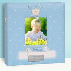Baby Gift Idea - Personalised Baby Boy Photo Album - Prince Design - Lovely Present Idea for Newborn or Baby Shower Unique Baby Gifts, New Baby Gifts, Gifts For Boys, Baby Boy Photo Album, Baby Prince, Wedding Moments, Personalized Baby, Baby Photos, Boy Or Girl