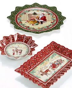villeroy?Boch Christmas china | macys.com offers Villeroy & Boch Dinnerware, Toy's Fantasy Collection ...