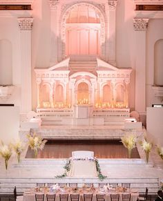 Blush and beautiful... (Venue: @redbirdla | @vibianaevents / Food & Beverage: @nealfraser @tobinshea / Planner: @cloud29events / Photography: @brianleahyphoto / Tabletop Rentals: @archiverentals @classicparty / Florals: @oftheflowers)