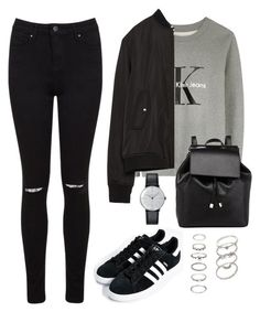 """Untitled #195"" by jessicapockrus ❤ liked on Polyvore featuring Calvin Klein, Zara, Miss Selfridge, adidas, Barneys New York, Forever 21, Klein & more, women's clothing, women and female"