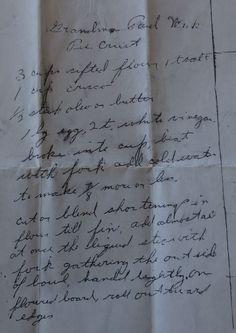 Grandma's pie recipe - I've changed it *slightly. Still the bomb.