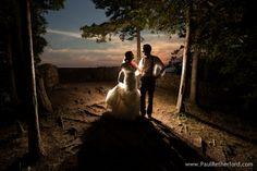 Sunset rock at the Inn at Stonecliffe on Mackinac Island, Michigan photo by Paul Retherford Photography, http://www.PaulRetherford.com with maggie sottero wedding dress #mackinacisland #wedding #puremichigan #sunset #lakehuron #lakemichigan #mackinacbridge #mackinacislandwedding #weddingphotographer #hprealweddings #realwedding #canonbringit #canon #nomiweddings #northernmichiganwedding #weddingphotographynomi #moments #weddings #weddingidea #musthaveweddingphoto #weddingdance #backlit
