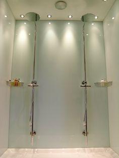 Simply Splashbacks   Bathroom Glass Splashbacks U0026 Coloured Glass Shower  Walls