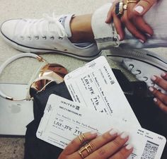 Beautiful travel photography. Airport photography. Passport tickets.