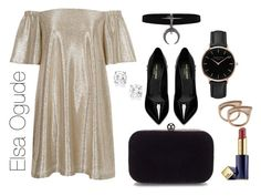 """""""Date Night"""" by elsaogude on Polyvore featuring River Island, Yves Saint Laurent, Topshop and Estée Lauder"""