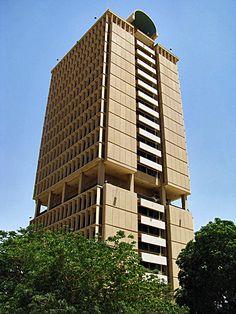 IRAQ, Baghdad University Tower via Flickr