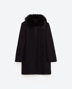 Image 8 of FLARED SLEEVE COAT from Zara
