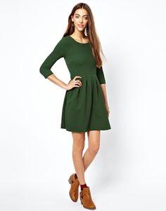 Image 4 ofGanni Structured Skater Dress