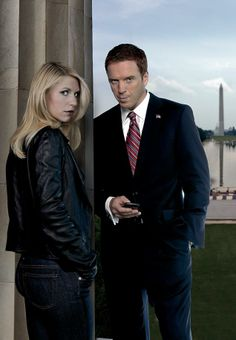 Homeland (2011- current) - Claire Danes as Carrie Mathison and Damian Lewis as Nicholas Brody