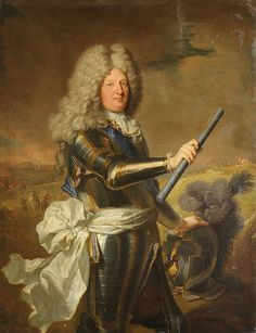 Louis, Grand Dauphin (1661-1711) Son of Louis XIV of France and Maria Theresa of Spain. Husband to Maria Anna Victoria of Bavaria and Marie Emilie de Joly de Choin