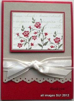 charming stampin up card ideas