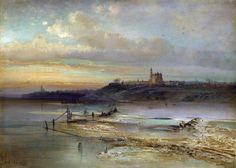 Саврасов А. К. Оттепель. Ярославль. 1874